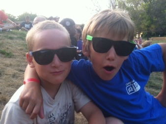boys in sunglasses